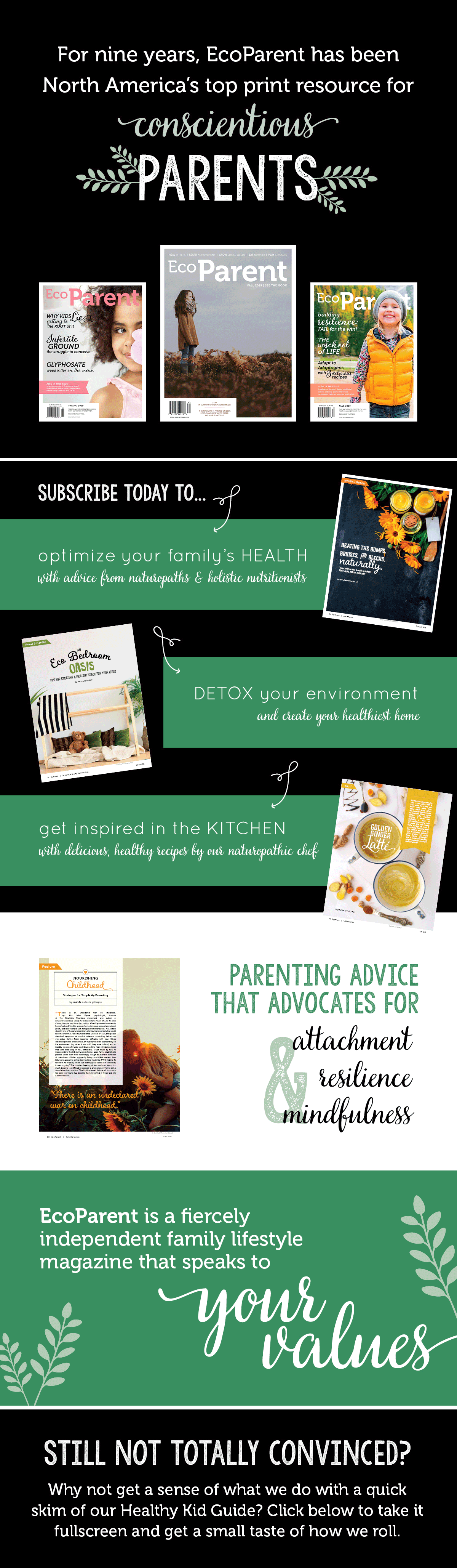 Subscribe to EcoParent magazine