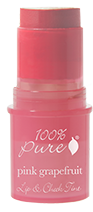 100% Pure Cheek and Lip Tint