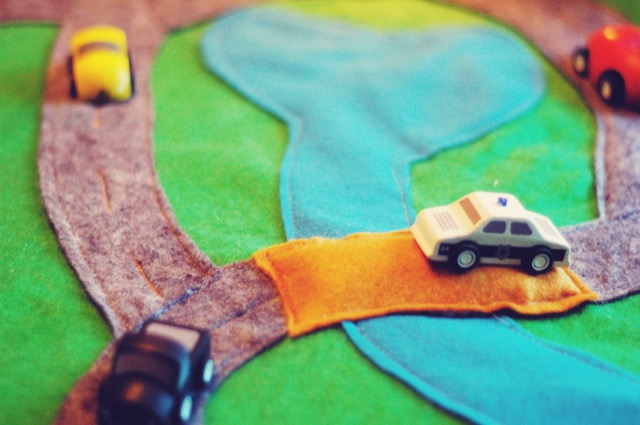 Felt Car Play Mat