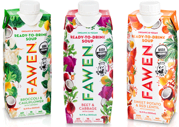 Fawen Ready-to-drink Soups - healthy fast foods