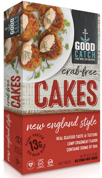 Good Catch Crab-free Cakes - healthy fast foods