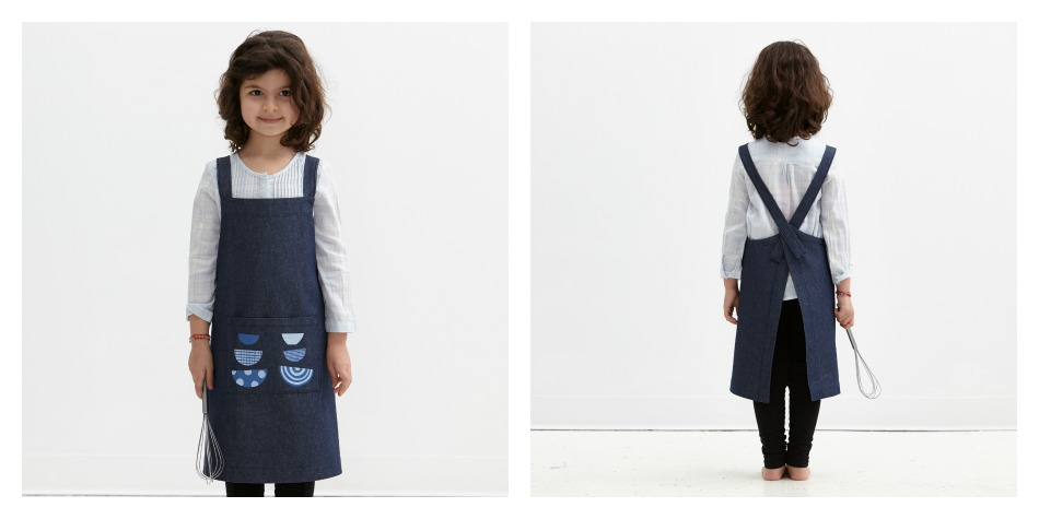 Childrens' Cotton Apron - Made in Canada by Objective
