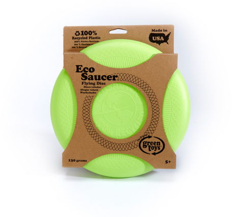 road trip eco saucer green toys