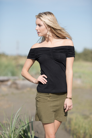 Sunset Tee and Tao Skirt by Nomads Hemp Wear