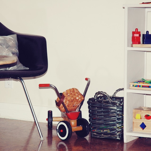 Purge your playroom to get ready for back to school