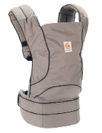 The Ergo Urban Chic carrier in grey