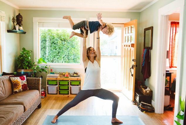 yoga and parenting