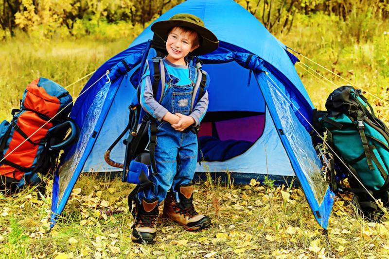 Family Camping with Kids | EcoParent magazine