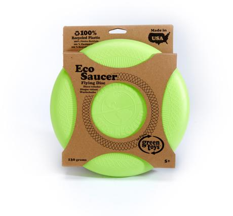 Green Toy EcoSaucer flying disc